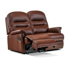 Keswick Leather Petite 2 Seater Recliner Sofa (catch only)