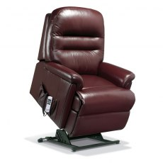 Keswick Leather Petite Electric Lift Recliner - Dual Motor