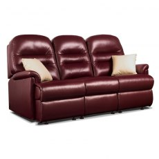 Keswick Leather Small 3 Seater Fixed Sofa