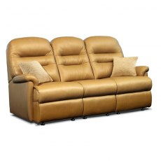 Keswick Leather Standard 3 Seater Fixed Sofa