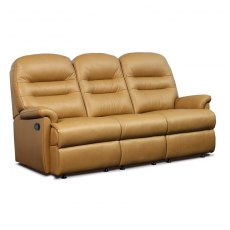 Keswick Leather Standard 3 Seater Recliner Sofa