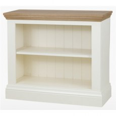 Coelo Dining Premier Bookcase in Lacq/Oyster White