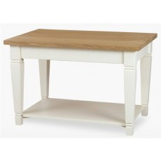Coelo Dining Premier Coffee Table in Lacq/Oyster White