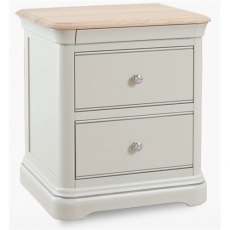 Cromwell Bedroom Premier 2 Drawer Bedside Chest
