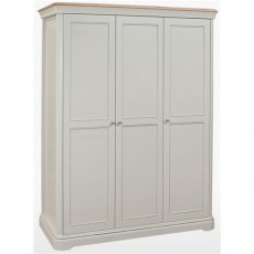 Cromwell Bedroom Premier All Hanging Triple Wardrobe