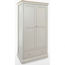 Cromwell Bedroom Premier Wardrobe 1 Drawer