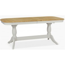 Cromwell Dining Premier Oval Extending Table in Lacq/Morning Dew