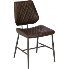 Baker Furniture Chairs Dalton Dining Chair Dark Brown