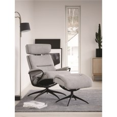 Tokyo Star Chair & Stool with Adjustable Headrest