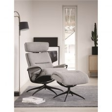 Tokyo Star Chair & Stool with Adjustable Headrest & High Base