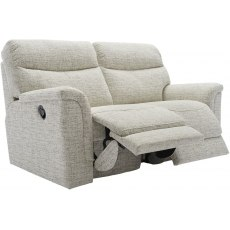 Harrison (Fabric) 2 Seater Manual Recliner Sofa Double