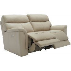 Harrison (Leather) 2 Seater Manual Recliner Sofa Double