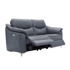 Jackson (Leather) 2 Seater Manual Recliner Sofa Double