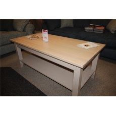 Clearance - Dining TCH Windsor Dining Painted Coffee Table with Shelf
