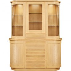 Talin Top for Sideboard with Glass Door
