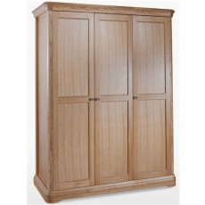 Lamont Bedroom Triple Wardrobe
