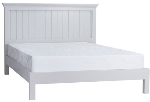 Coelo Bedroom With Painted Tops King Size Low Foot End Bed