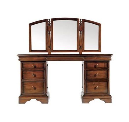 Alsace Dressing Table With Mirror