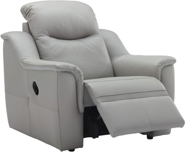 g plan upholstery firth leather power recliner chair recliners