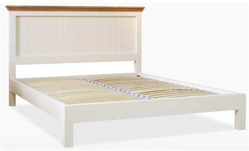 Coelo Bedroom Express Double Panel Bed LF in Lacq/Ice White